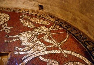 catmoz cathy artiste freelance créations mosaïque tous supports histoire de la mosaique au Moyen Âge