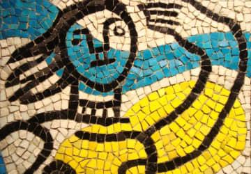 catmoz cathy artiste freelance créations mosaïque tous supports histoire de la mosaique Contemporaine