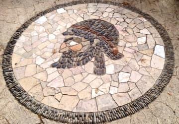 catmoz cathy artiste freelance créations mosaïque tous supports histoire de la mosaique grecque