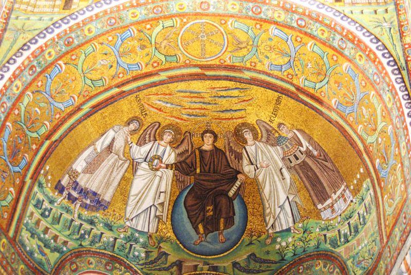 catmoz cathy artiste freelance créations mosaïque tous supports Histoire de la Mosaïque Byzantine