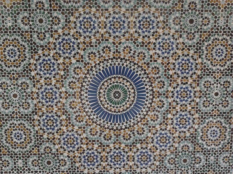 catmoz cathy artiste freelance créations mosaïque tous supports Histoire de la Mosaïque Arabo-Musulmane