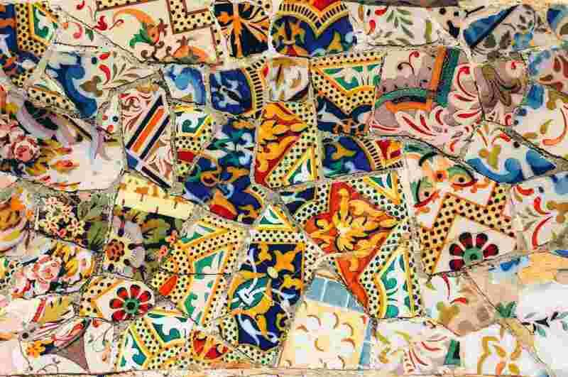 catmoz cathy artiste freelance créations mosaïque tous supports Histoire de la Mosaïque Moderne