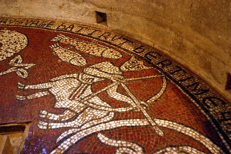 catmoz cathy artiste freelance créations mosaïque tous supports Histoire de la Mosaïque au Moyen Âge