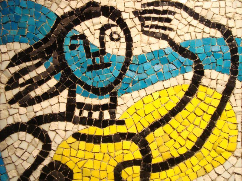 catmoz cathy artiste freelance créations mosaïque tous supports Histoire de la Mosaïque Contemporaine