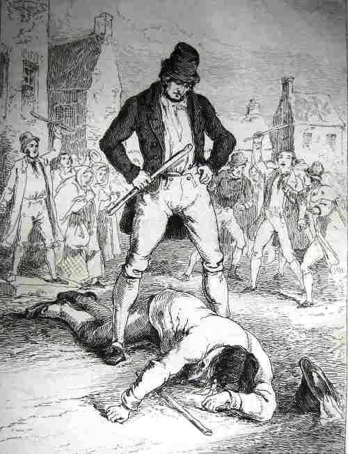 Ирландская трость - грозное оружие в умелых руках