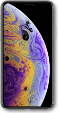 Apple iPhone Xs - Silber