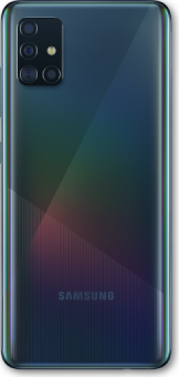Samsung Galaxy A51 - Prism crush black