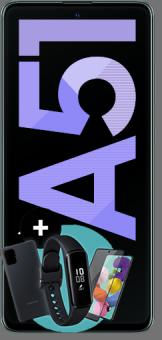 Samsung Galaxy A51 mit Starter Kit
