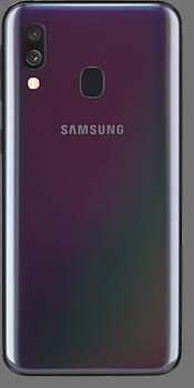 Samsung Galaxy A40 - Schwarz