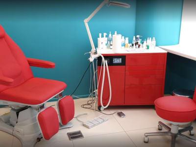 Manicure and pedicure center