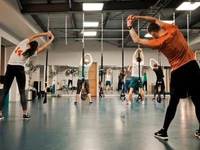 Health and fitness studio