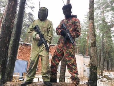 GUNSnLASERS in Mežaparks