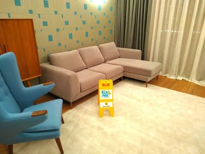 Sectional 3 seat sofa cleaning