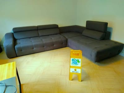 Sectional 4 seat sofa cleaning