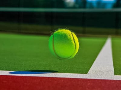 Tennis lessons and tournaments