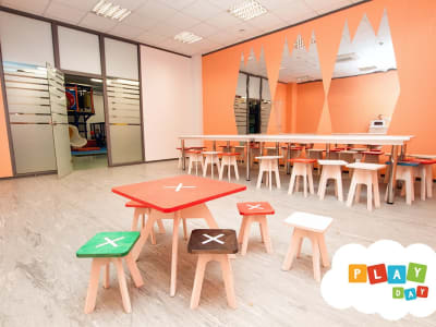 Playroom Peach (up to 25 children)
