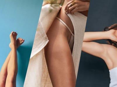 Legs + armpits + bikini + arms waxing
