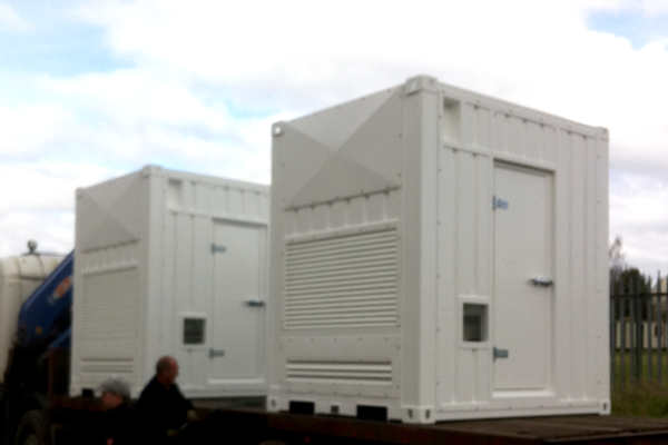Bespoke Metal Weatherproof Containers for generators and other applications