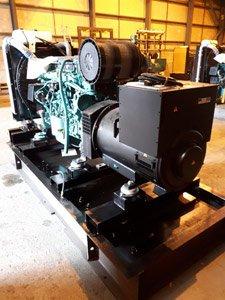 Mounting the generator