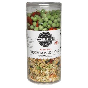 32-Bean and Vegetable soup