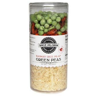 Green Peas Pilaf