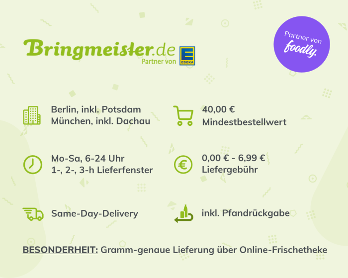 Bringmeister Infographic