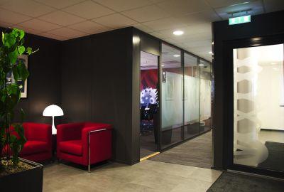 Oppgradering av kontorer – Amgen