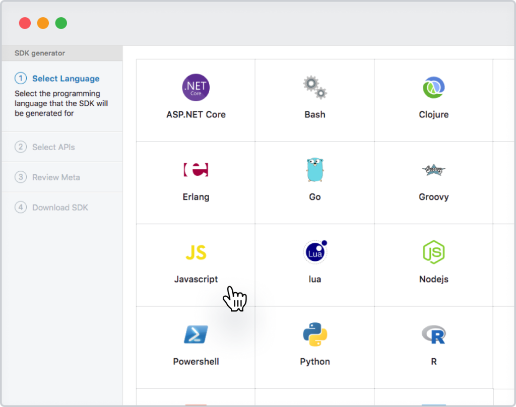 Software Developer Kit - SDK
