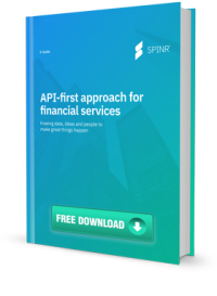 API-first approach for financial services