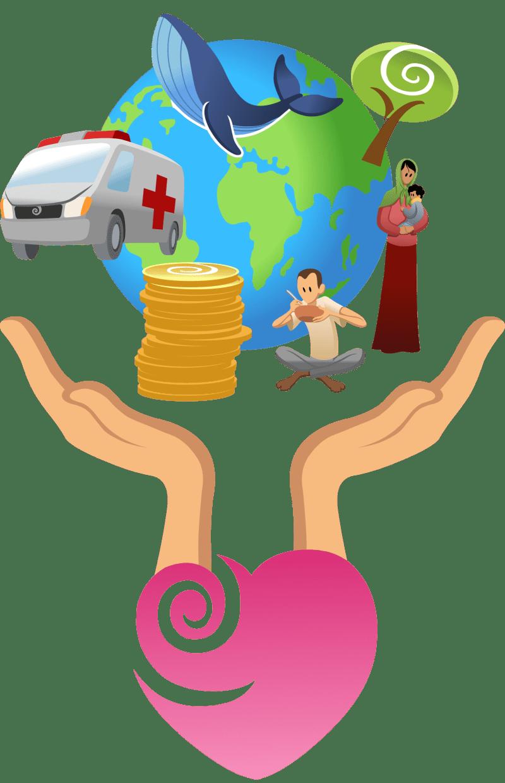 how we help charities
