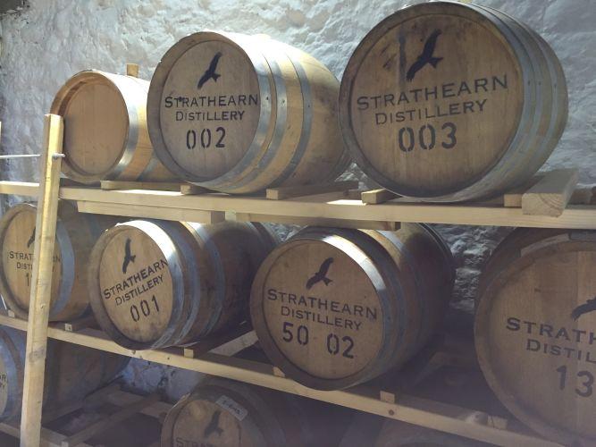 tonneaux de whisky
