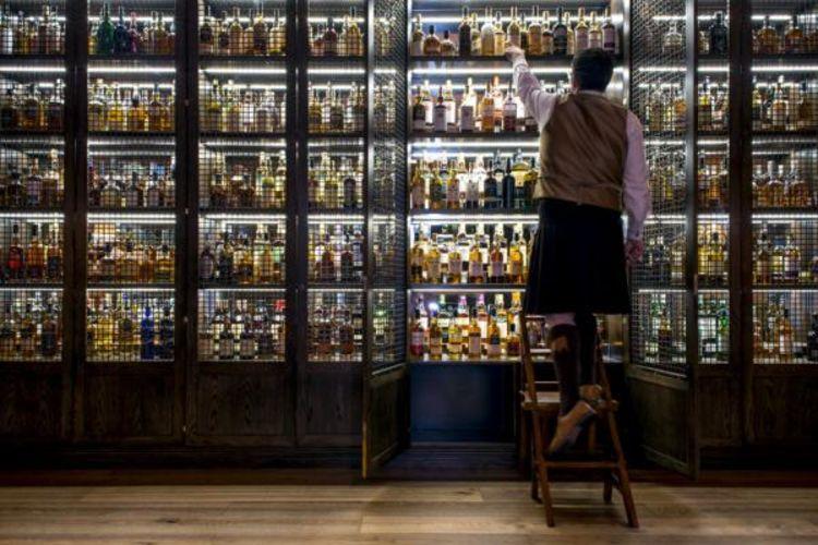 whisky étagère à whisky