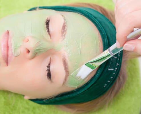 ماسک صورت اسپیرولینا ترمیم کننده و روشن کننده پوست، بهترین ماسک برای تقویت پوست