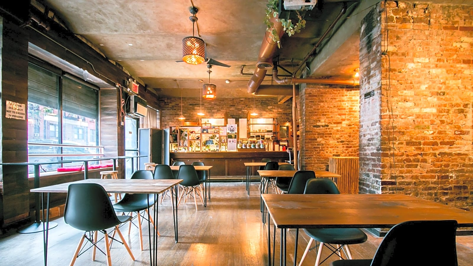 Exposed brick Multi-use Event Space event space | Lower