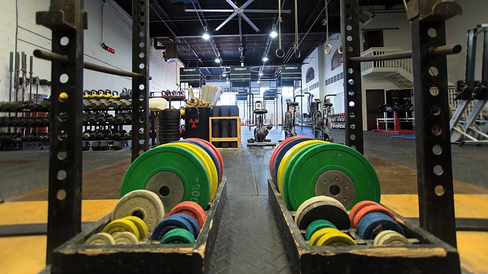 Fitness warehouse garage gym event space williamsburg new york