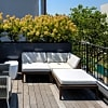 Landscaped roof terrace and garden - 1