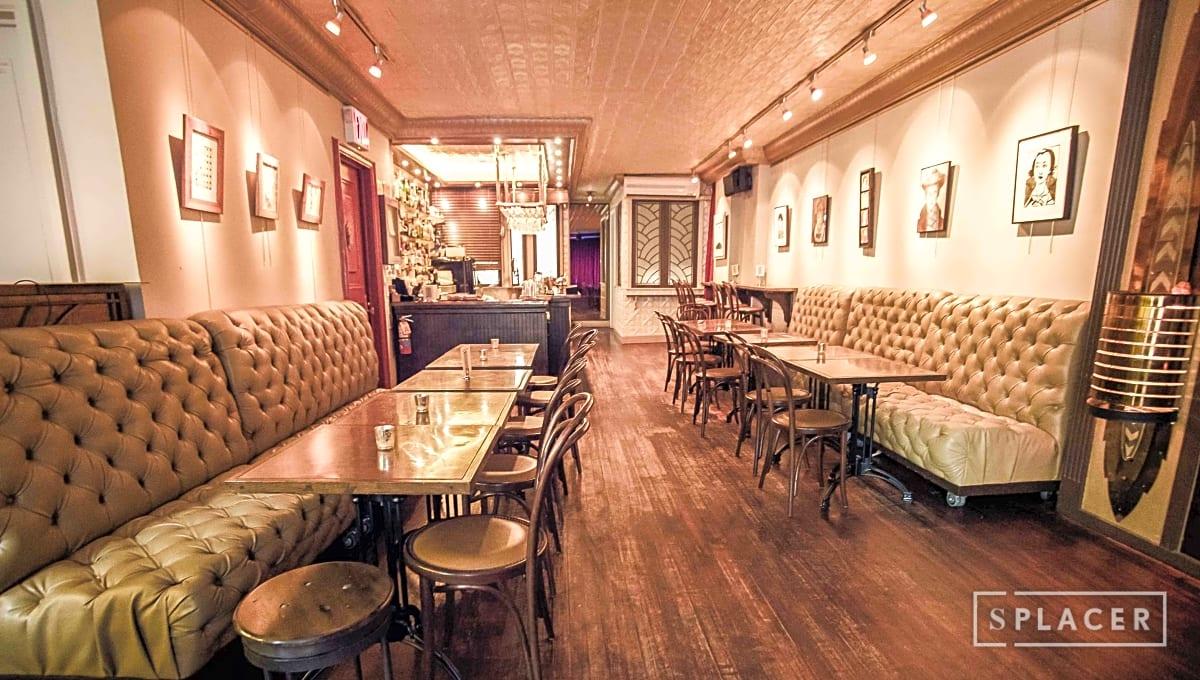 Prohibition Era Speakeasy Bar Downtown In Lower East Side