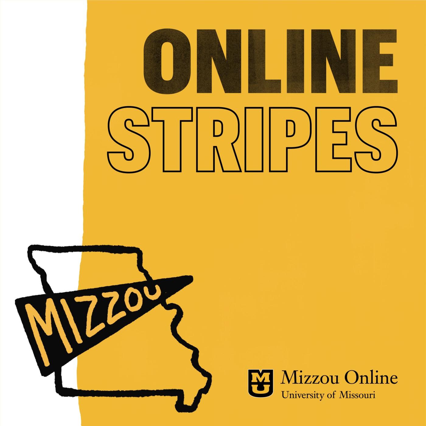 Online Stripes logo