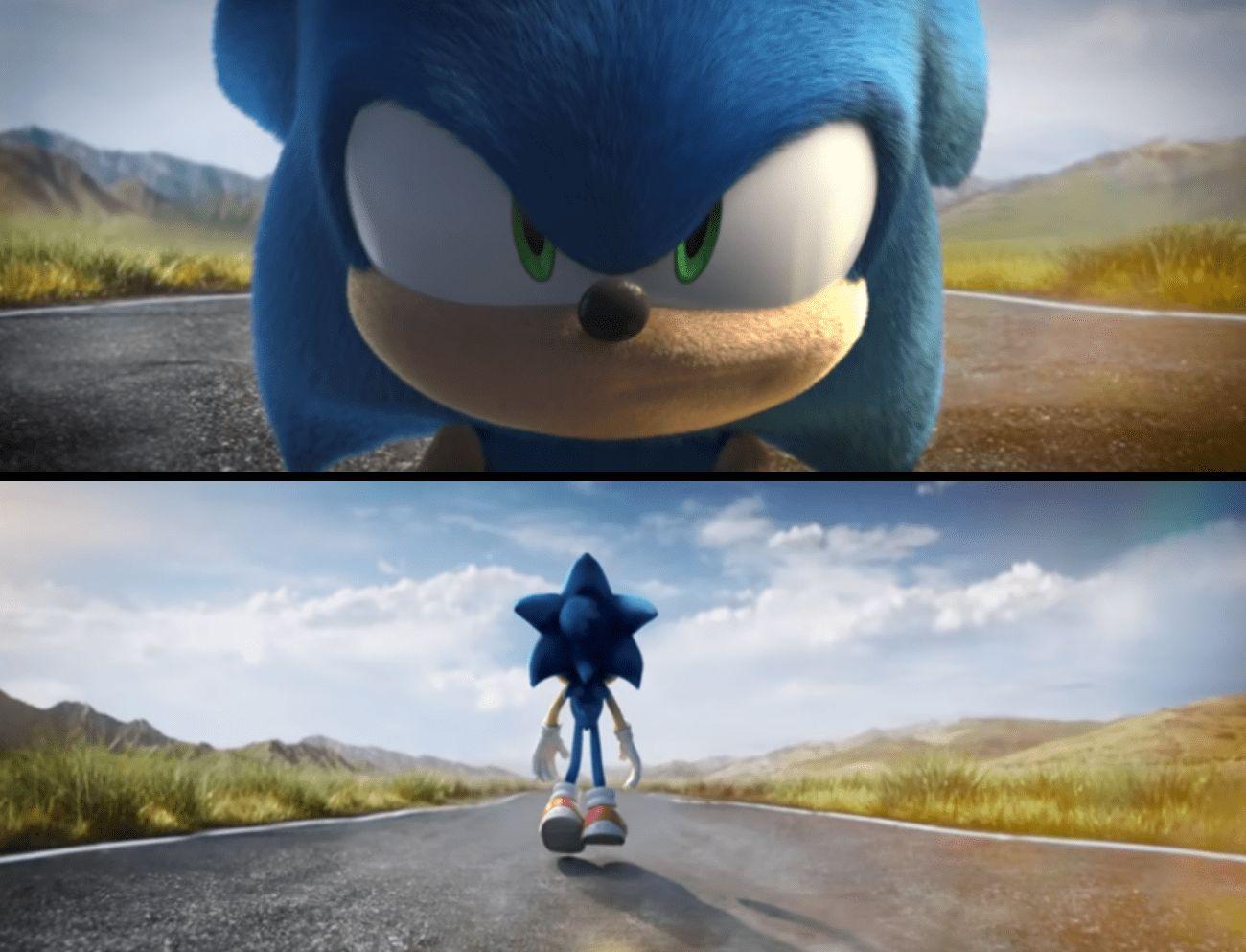 Ce fan refait la bande-annonce (ratée) du film Sonic