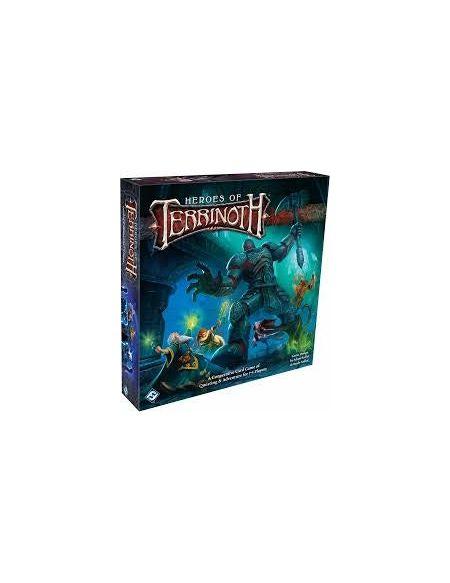 Fantasy Flight Games Ffgter01Heroes of Terrinoth: The Adventure Jeu de Cartes, mélange de Couleurs