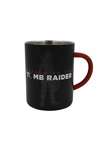 Tomb Raider Mug Acier