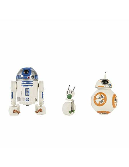 Pack de 3 figurines Star Wars Galaxy of Adventures Droïdes R2-D2 BB-8 et D-O