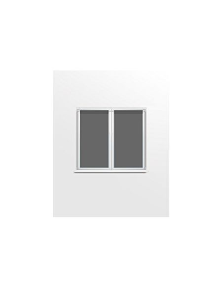 Soleil d'Ocre 042542 Dolly Paire de Brise Bise Polyester Anthracite 45x90 cm