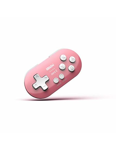 Mini Manette 8BITDO Zero 2 Rose