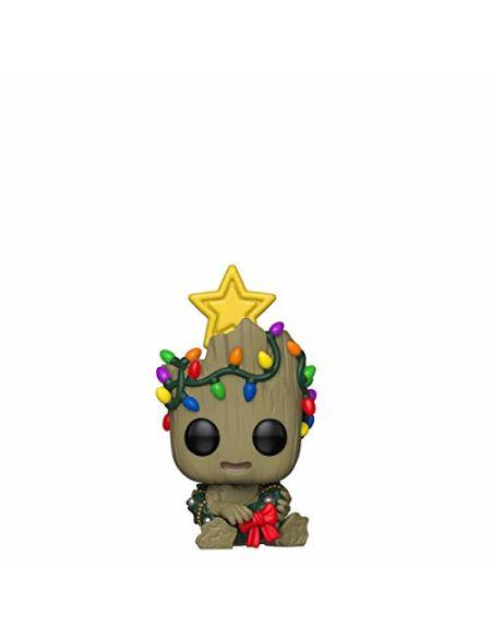 Figurine Pop! Groot - Marvel Noël