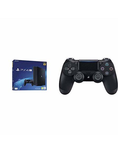 PS4 Pro 1 To G - noir + Sony Manette Dual Shock 4 V2 pour PS4 - Noir