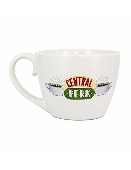 Paladone PP5612FR Tasse à cappuccino avec inscription « Friends Central Perk » | Tasse fantaisie en céramique | façon unique et super amusante de boire votre boisson préférée