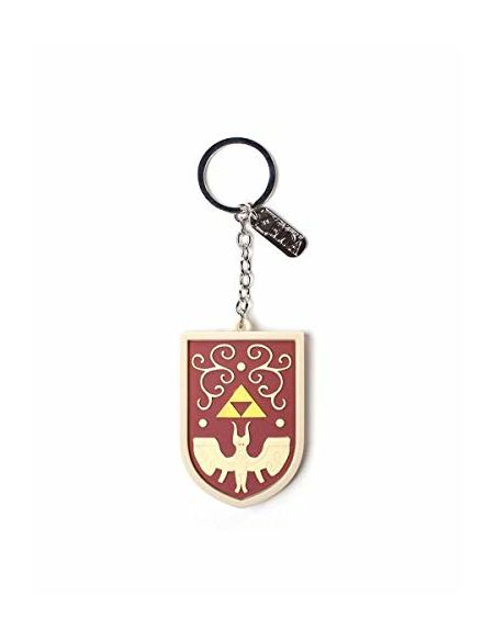 Zelda - Porte-Clés - 3D Hero's Shield with Charm