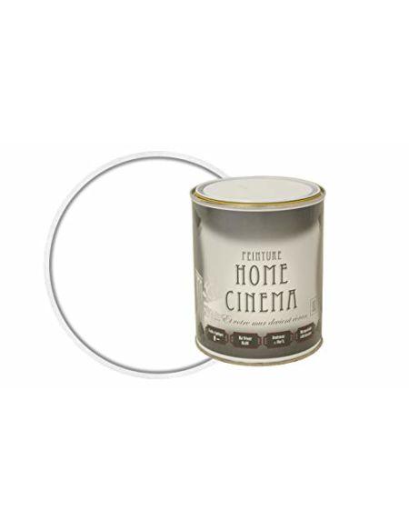 HOME CINEMA Peinture Cinema Murale pour Projeter un Ecran 1L Blanc