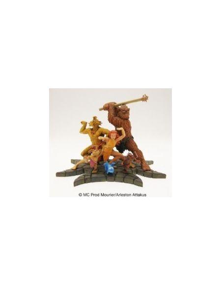 Attakus Collection- Troll de Troy-Coffret Collector Figurine de Collection, C777, Polychrome